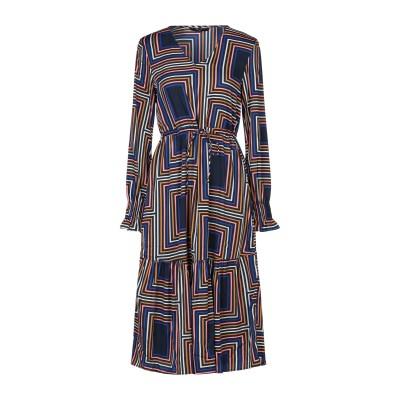 VERO MODA 7分丈ワンピース・ドレス ダークブルー XS ポリエステル 100% 7分丈ワンピース・ドレス