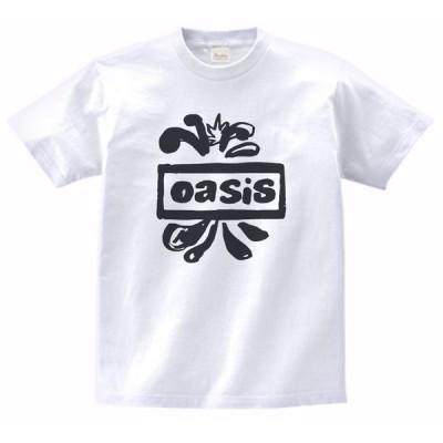 音楽・バンド・ロック・シネマ  Tシャツ オアシス Oasis 白