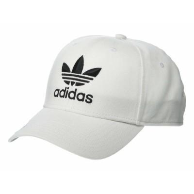 アディダスオリジナルス 帽子 アクセサリー メンズ Originals Icon Precurve Snapback White/Black