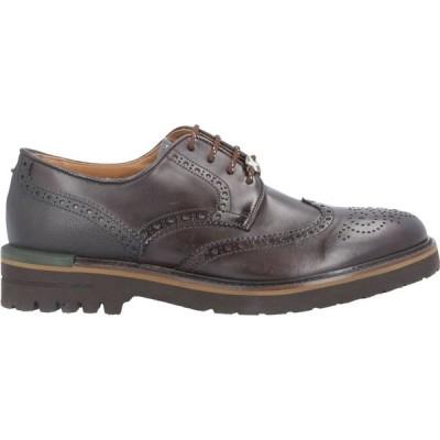 ブリマート BRIMARTS メンズ 革靴・ビジネスシューズ シューズ・靴 Laced Shoes Dark brown