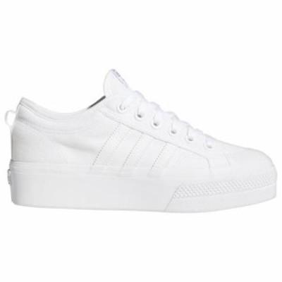 (取寄)アディダス オリジナルス レディース シューズ ニッツァ プラットフォーム adidas originals Women's Shoes Nizza Platform White