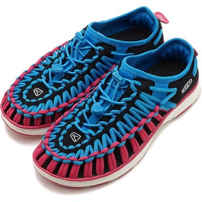 キーン KEEN スニーカー ユニーク オーツー W UNEEK O2 1020815 SS19 レディース スポーツサンダル 靴 DRESDEN BLUE CABARET ピンク系