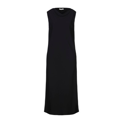 THE ROW 7分丈ワンピース・ドレス ブラック 6 レーヨン 95% / ポリウレタン 5% 7分丈ワンピース・ドレス