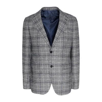 8 by YOOX テーラードジャケット グレー 46 ウール 60% / ポリエステル 35% / ナイロン 5% テーラードジャケット