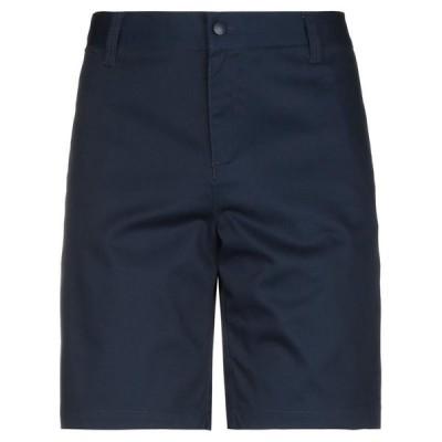 M.C.OVERALLS ショートパンツ&バミューダパンツ  メンズファッション  ボトムス、パンツ  ショート、ハーフパンツ ダークブルー