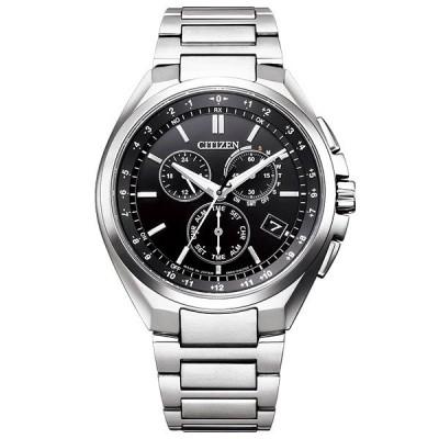 シチズン アテッサ エコ・ドライブ ソーラー 電波 時計 メンズ 腕時計 CB5040-80E