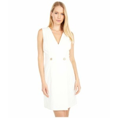 ベベ レディース ワンピース トップス Blazer Dress Ivory