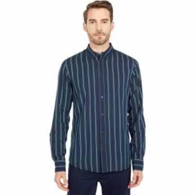 スコッチandソーダ Scotch and Soda メンズ トップス Regular Fit - Pattern Shirt with Contrast Boucle Yarn Combo B