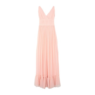 RUE•8ISQUIT ロングワンピース&ドレス ピンク 42 ポリエステル 100% ロングワンピース&ドレス