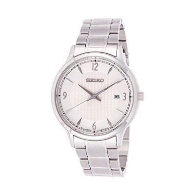 Seiko Men's SGEH79 Silver Stainless-Steel Japanese Quartz Dress Watch並行輸入品
