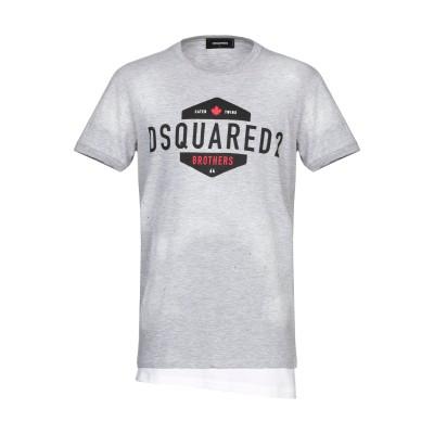 ディースクエアード DSQUARED2 T シャツ ライトグレー XS コットン 88% / レーヨン 12% T シャツ