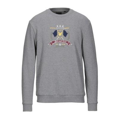 ライルアンドスコット LYLE & SCOTT スウェットシャツ グレー M コットン 100% スウェットシャツ