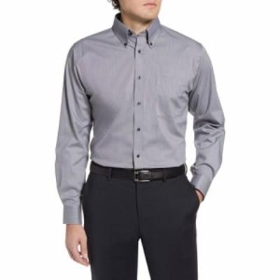 ノードストローム NORDSTROM メンズ シャツ トップス Shop Traditional Fit Non-Iron Dress Shirt Grey Castlerock