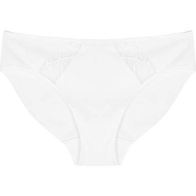 ワコール Wacoal レディース ショーツのみ インナー・下着 lisse white stretch-cotton briefs White