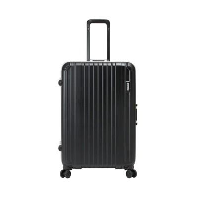 【カバンのセレクション】 バーマス ヘリテージ スーツケース Lサイズ/88L フレームタイプ ストッパー機能 受託手荷物規定内 SUBポート BERMAS 60494 ユニセックス ブラック フリー Bag&Luggage SELECTION