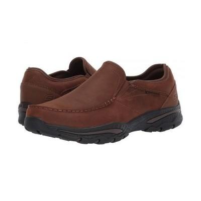 SKECHERS スケッチャーズ メンズ 男性用 シューズ 靴 スニーカー 運動靴 Relaxed Fit Creston - Artie - Dark Brown