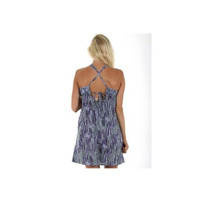 ボルコム ドレス ワンピース VOLCOM サーフ レディース クロス BACK EASY ドレス サイズ S スモール AUS サイズ 10 WW14