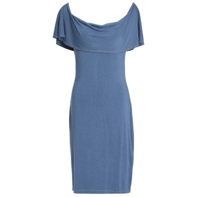 KAIN ミニワンピース&ドレス スカイブルー XS コットン 50% / レーヨン 50% ミニワンピース&ドレス