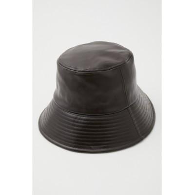 LAGUA GEM / F/LEATHER BIG HAT WOMEN 帽子 > キャップ