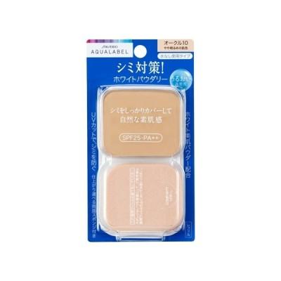 資生堂(SHISEIDO) アクアレーベル 美白ケア ホワイトパウダリー オークル10 (レフィル) やや明るめの肌色 (11.5g)