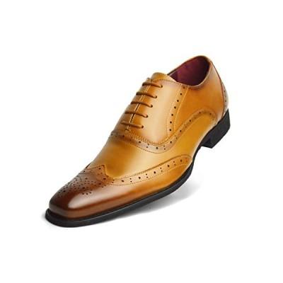 [ネロ コルサロ] 本革 日本製 ビジネスシューズ メンズ 革靴 紳士靴 レザー nc403[Camel] 26cm