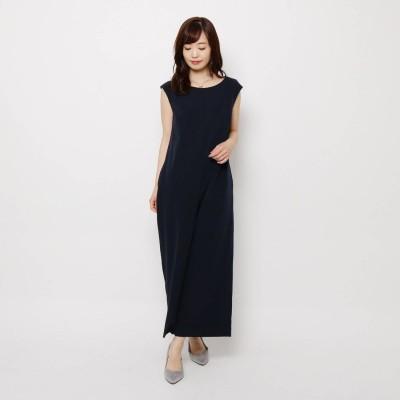 スープ SOUP 【入卒・WEB限定アイテム】ダブルクロスオールインワン (ネイビー)