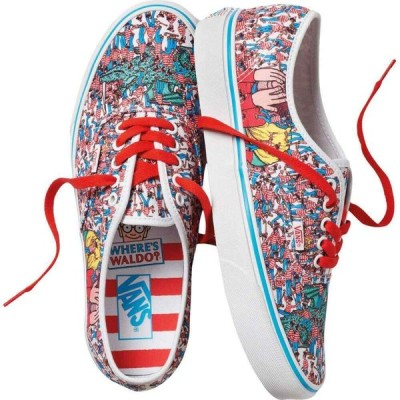 ヴァンズ Vans レディース スニーカー シューズ・靴 x Where's Waldo? Sneaker Collection Where's Waldo Authentic) Land of Waldos