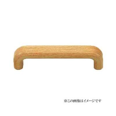シロクマ 白熊印・HW-11 ウッド 小判ハンドル 小小(全長=70mm ビスピッチ=60mm)