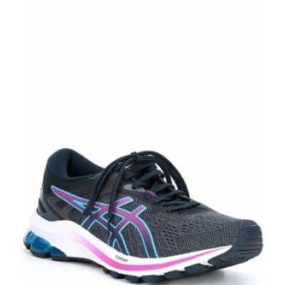 アシックス レディース スニーカー シューズ Women's GT-1000 10 Running Shoes French Blue/Digital Grape