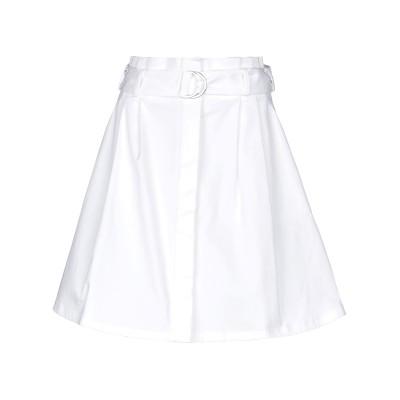 パロッシュ P.A.R.O.S.H. ミニスカート ホワイト XS コットン 98% / ポリウレタン 2% ミニスカート