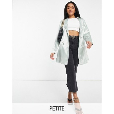コレクティブザラベル Collective The Label Petite レディース スーツ・ジャケット ブレザー アウター Oversized Boxy Blazer Dress In Pistachio ピスタチオ