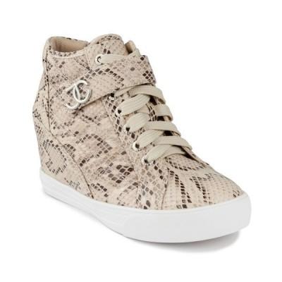 ジューシークチュール スニーカー シューズ レディース Women's Journey Wedge Sneakers Natural