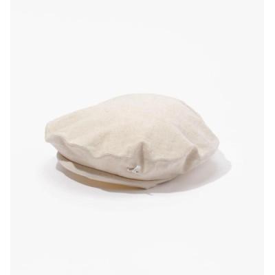 【トゥモローランド/TOMORROWLAND】 Muhlbauer コットンリネンベレー帽