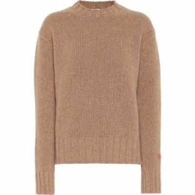 ヴィクトリア ベッカム Victoria Beckham レディース ニット・セーター トップス Wool And Cashmere Sweater Camel Melange