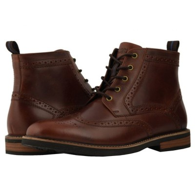 ナンブッシュ Nunn Bush メンズ ブーツ シューズ・靴 Odell Wingtip Boot with KORE Walking Comfort Technology Rust