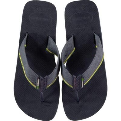 ハワイアナス Havaianas メンズ ビーチサンダル シューズ・靴 Uban Brasil Flip Flops Navy Blue