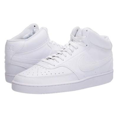 ナイキ Court Vision Mid メンズ スニーカー 靴 シューズ White/White/White