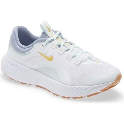 ナイキ NIKE レディース ランニング・ウォーキング シューズ・靴 React Escape Run Running Shoe White/Solar Flare/Grey