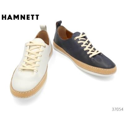 ハムネット HAMNETT 37054 カジュアルシューズ スニーカー レースアップ 靴 メンズ