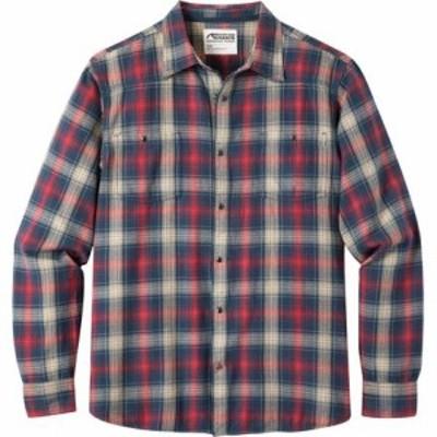 マウンテン カーキ トップス Saloon Flannel Shirt - Mens