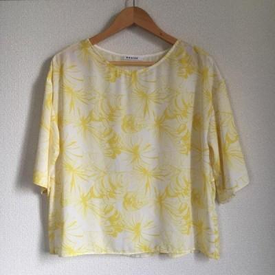 ROSIEE ロージー 七分袖 シャツ、ブラウス Shirt, Blouse  10006479