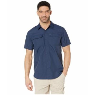 コロンビア メンズ シャツ トップス Silver Ridge 2.0 Short Sleeve Shirt Collegiate Navy