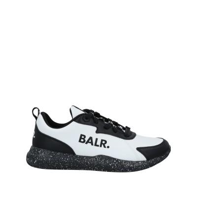 BALR. スニーカー&テニスシューズ(ローカット) ホワイト 39 紡績繊維 スニーカー&テニスシューズ(ローカット)