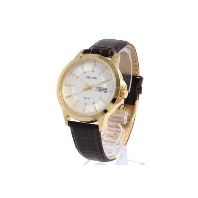 CITIZEN シチズン 腕時計 時計 クオーツ メンズ アナログ 防水 フォーマル シンプル ビジネス 就活 レザー BF2018-01A