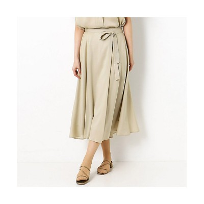 <COMME CA TALL(Women/大きいサイズ)/コムサ トール>【セットアップ対応】サテン ヘムラインスカート(3407FT08) 15【三越伊勢丹/公式】