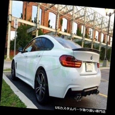 GTウィング BMWカーボンF36スポイラー4シリーズブーツウイングトランクGTリアパフォーマンスリップ  BMW CARB