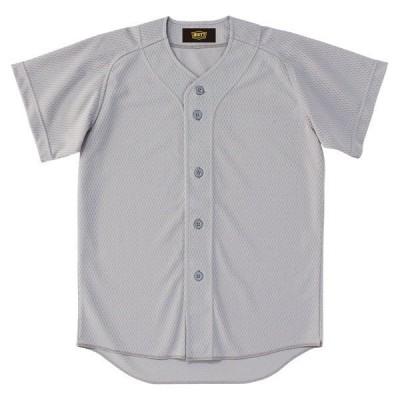 ZETT ゼット 少年用ユニフォームシャツ BU2071 シルバー