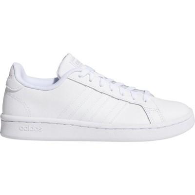 アディダス スニーカー シューズ レディース adidas Women's Grand Court Tennis Shoes White 01