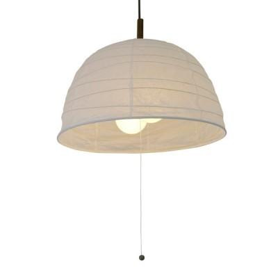 美濃和紙製 ちょうちん 提灯 ペンダントライト/インテリア照明 揉み紙