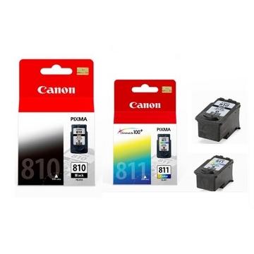 CANON PG-810+CL-811 原廠墨水匣組 (1黑+1彩)